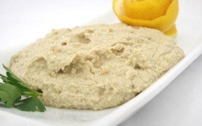 Almond and Zucchini Hummus